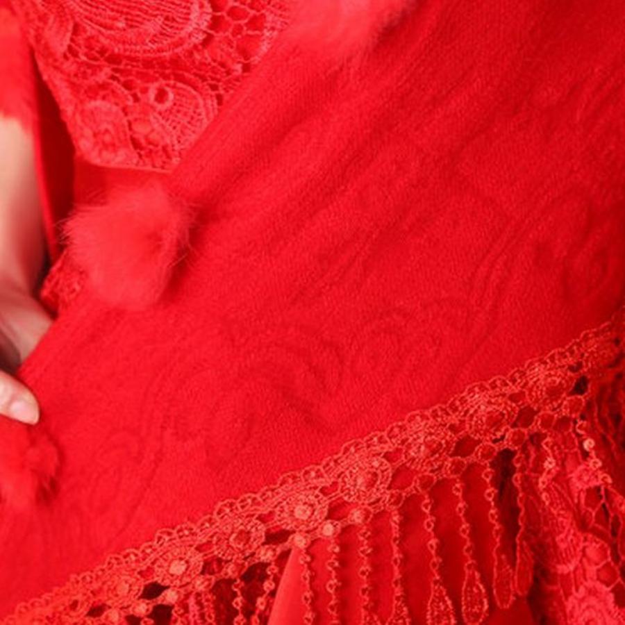 Prachtige Rode Sjaal-4