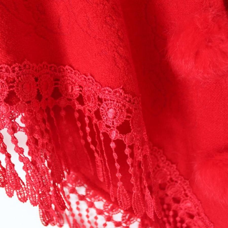 Prachtige Rode Sjaal-6