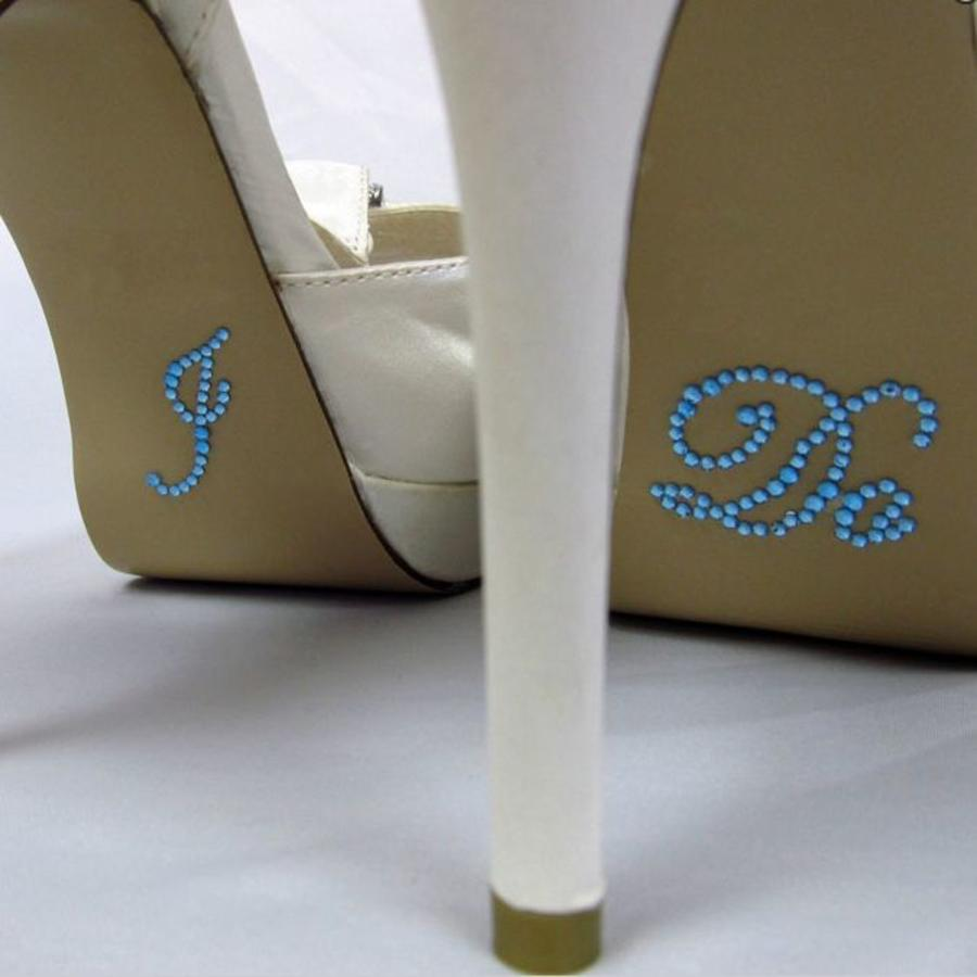 'I DO' & 'ME TOO' Setje -Aqua Blauw-3