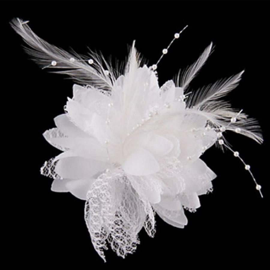 Prachtige Witte Bloem voor in je Haar-2