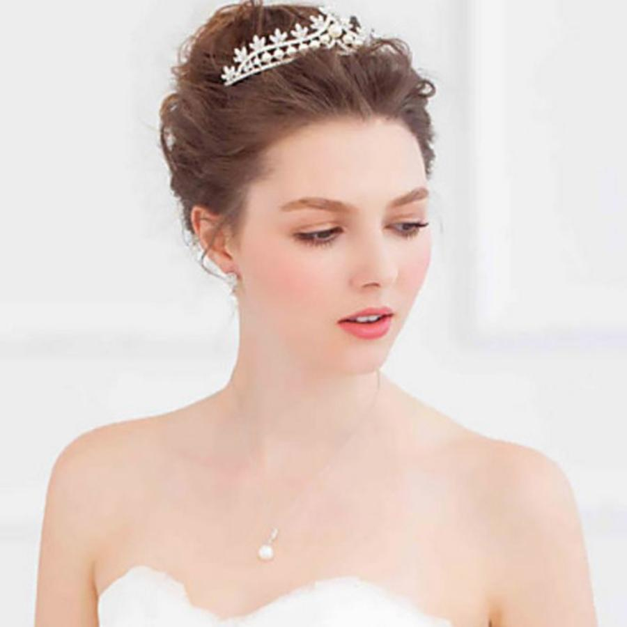 Eye Catcher - Kristallen Tiara/Kroon-6