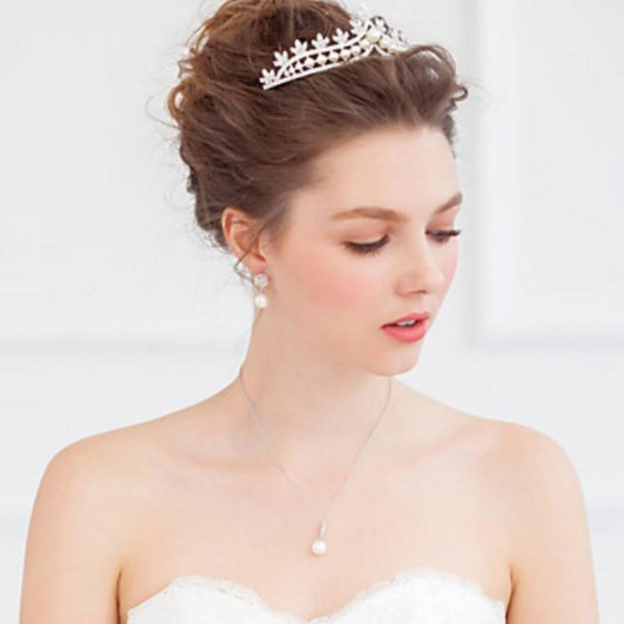 Eye Catcher - Kristallen Tiara/Kroon-5