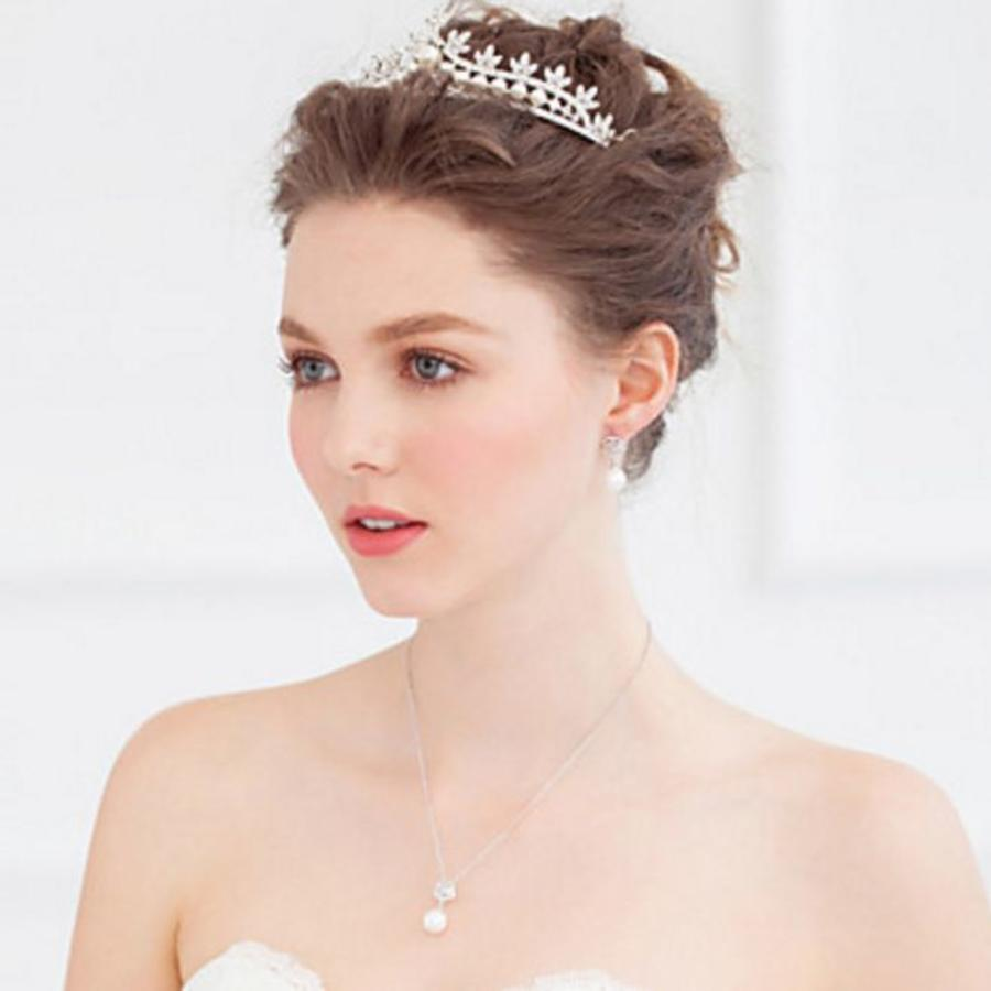 Eye Catcher - Kristallen Tiara/Kroon-4