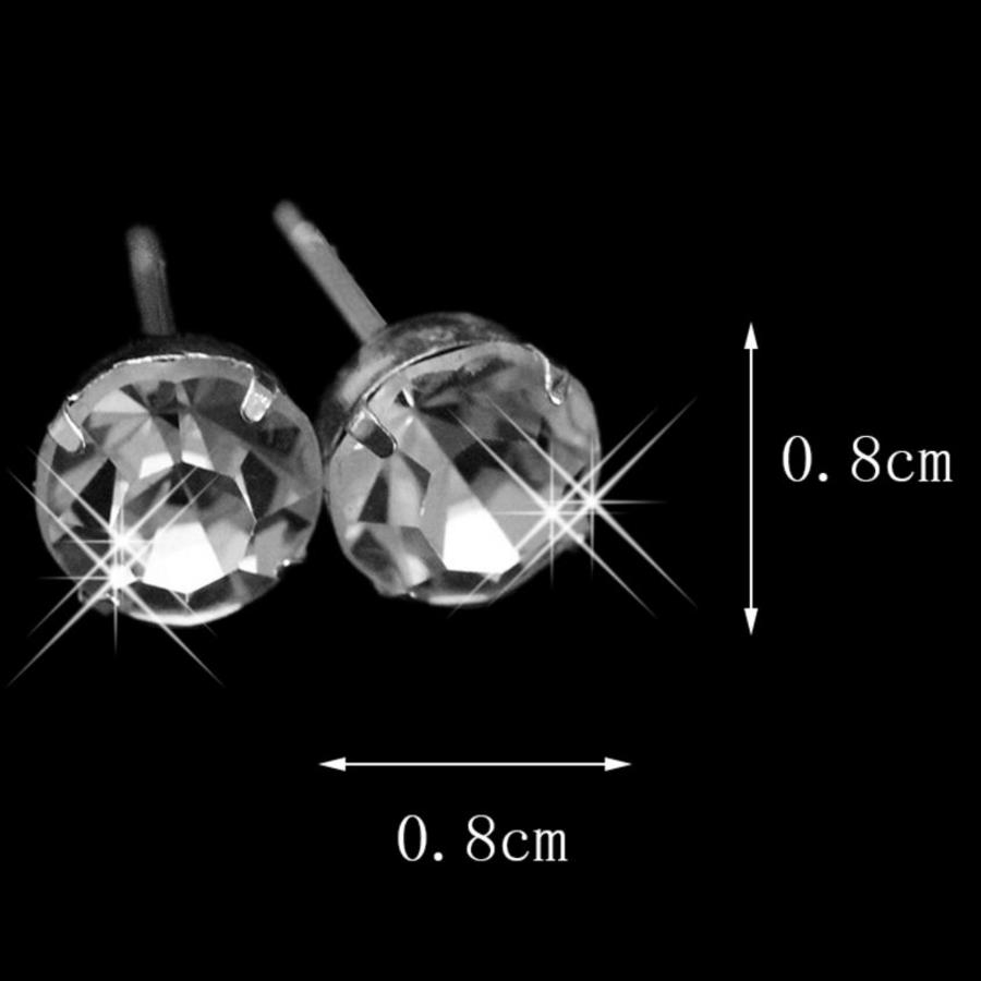 Sieradenset Glitter (Ketting & Oorbellen)-2
