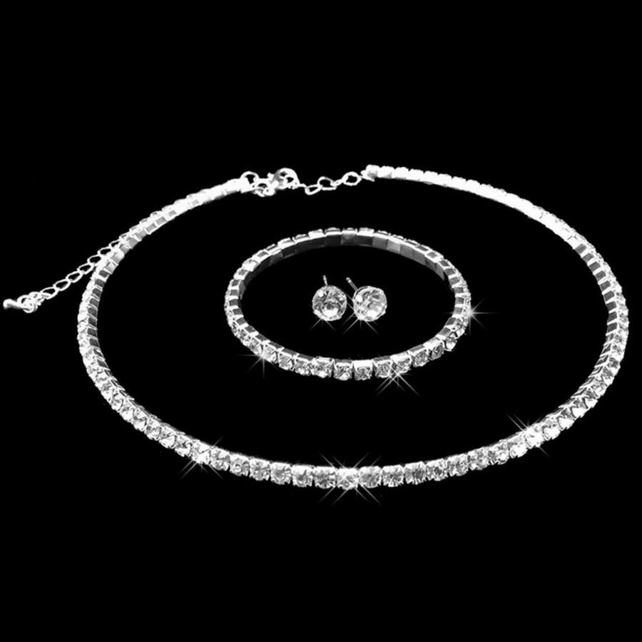 Sieradenset Glory (Ketting & Oorbellen)-6
