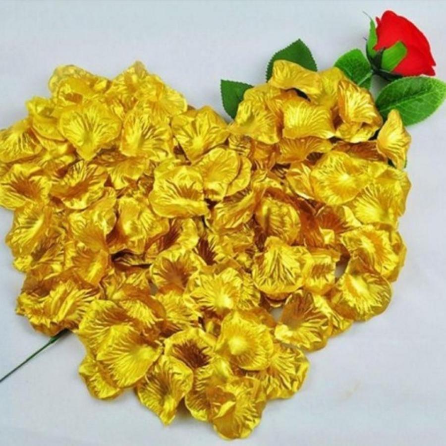 SALE - Rozenblaadjes - Goud (ca. 100 stuks)-1