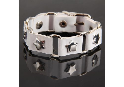 SALE - Armband Star - Wit