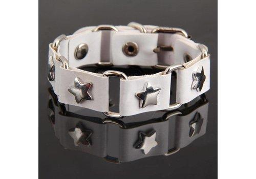 SALE - Armband Star - Wit
