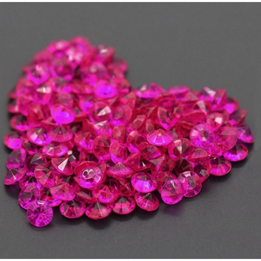 Decoratie Steentjes - Diamantjes - Roze - 1000 stuks-1