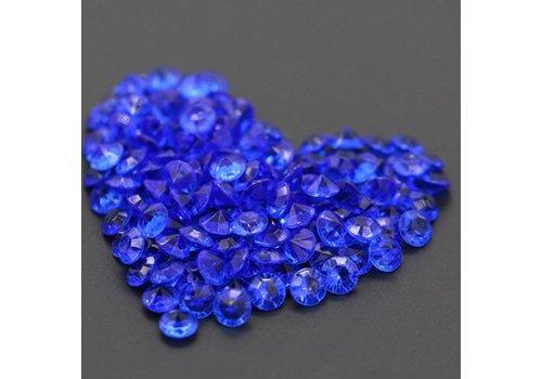 Decoratie Steentjes - Diamantjes - Blauw - 1000 stuks