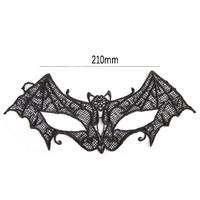 thumb-Party Masker -Vleermuis - Zwart - 005-3