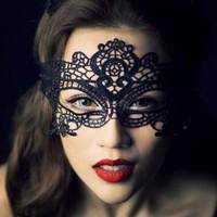 thumb-Party Masker - Zwart - 003-1