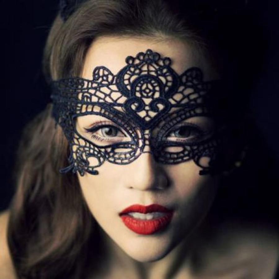 Party Masker - Zwart - 003-1