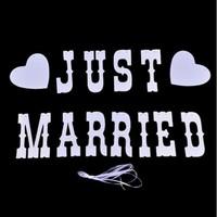 thumb-PaCaZa - Just Married Slinger - Bruiloft Decoratie-2