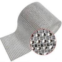 thumb-PaCaZa - Diamanten 'Lint' - 90 cm - Zilver - Bruiloft Decoratie - DIY-3