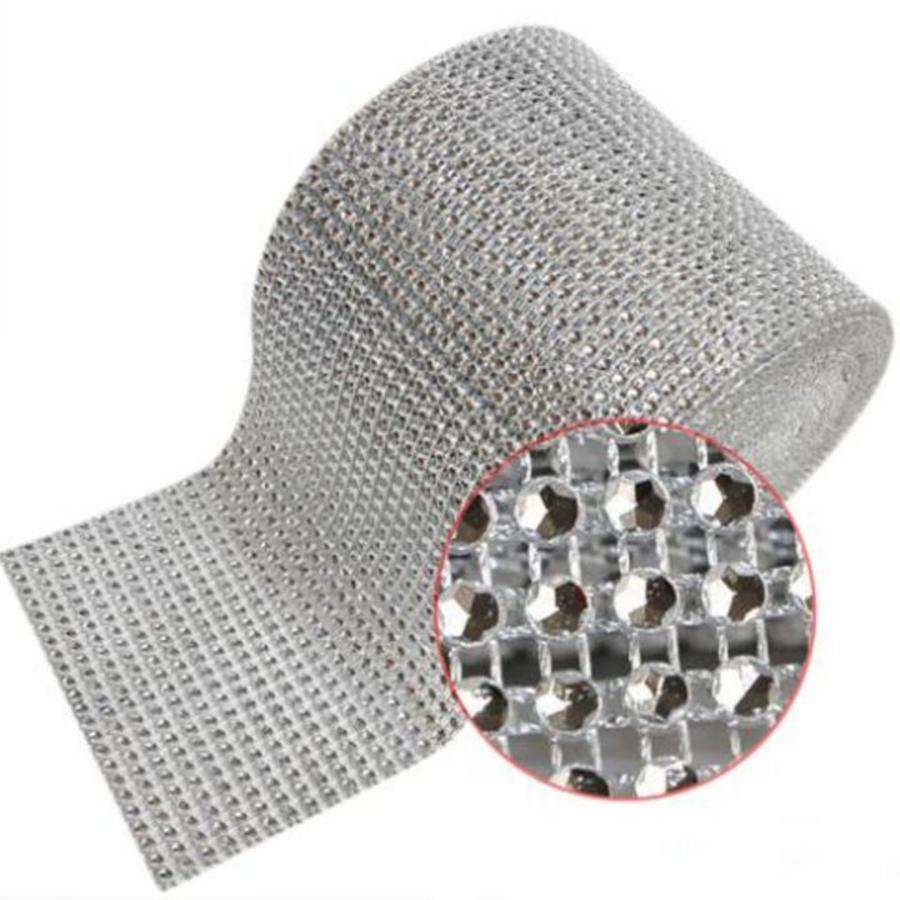 PaCaZa - Diamanten 'Lint' - 90 cm - Zilver - Bruiloft Decoratie - DIY-3