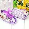 Bloemen Sneakers - Paars / Lila - 011