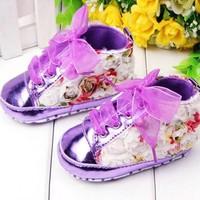 thumb-PaCaZa - Bloemen Sneakers - Paars / Lila - 011-2