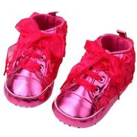 thumb-Roze Sneakers met Bloemetjes - 015-3
