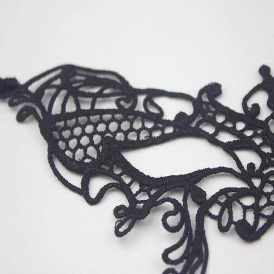 SALE - Party Masker - Zwart - 006-3