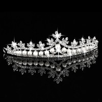 thumb-Eye Catcher - Kristallen Tiara/Kroon-1