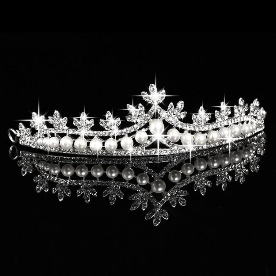 Eye Catcher - Kristallen Tiara/Kroon-1