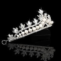 thumb-Eye Catcher - Kristallen Tiara/Kroon-3