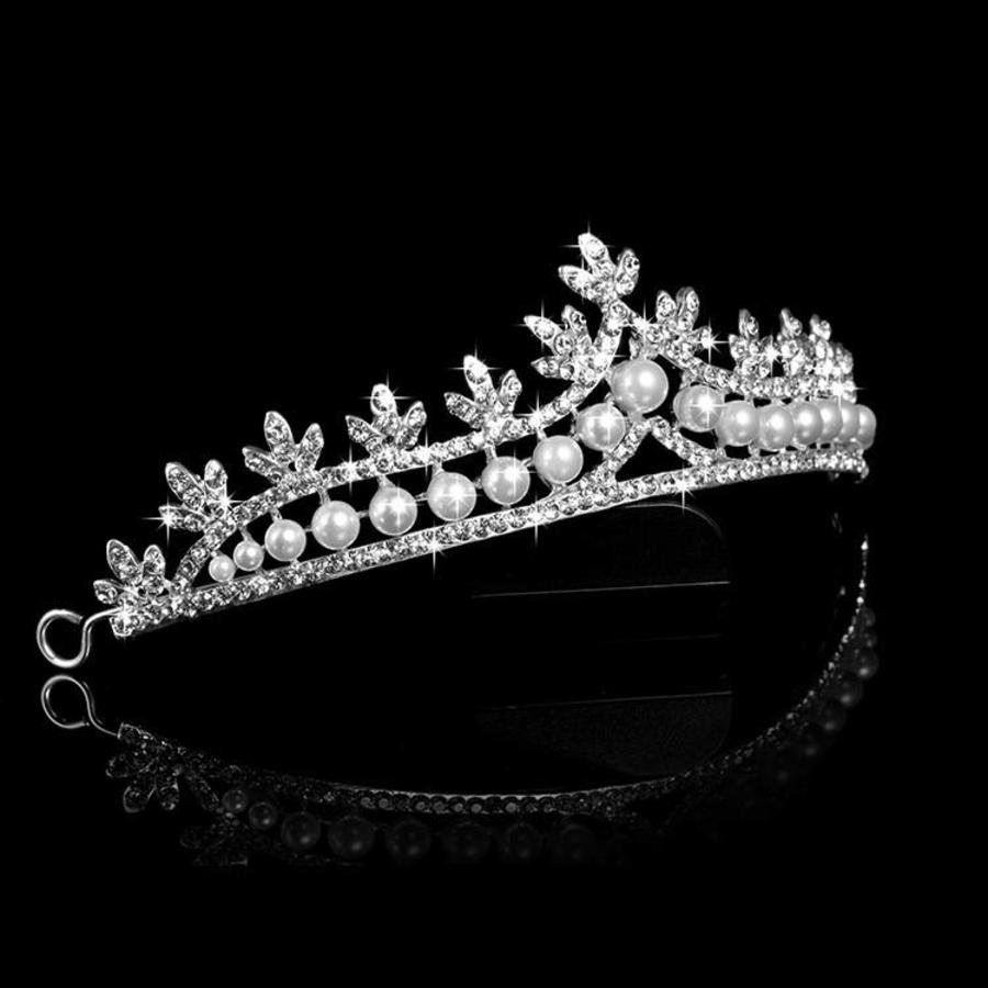 Eye Catcher - Kristallen Tiara/Kroon-2