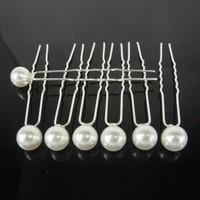 thumb-PaCaZa - Hairpins - Ivoorkleurige Parel - 5 stuks-3