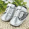 PaCaZa Sneakers met Vleugels - Zilver