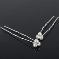 thumb-Hairpins – Pareltjes met 'Diamantje' - 5 stuks-2