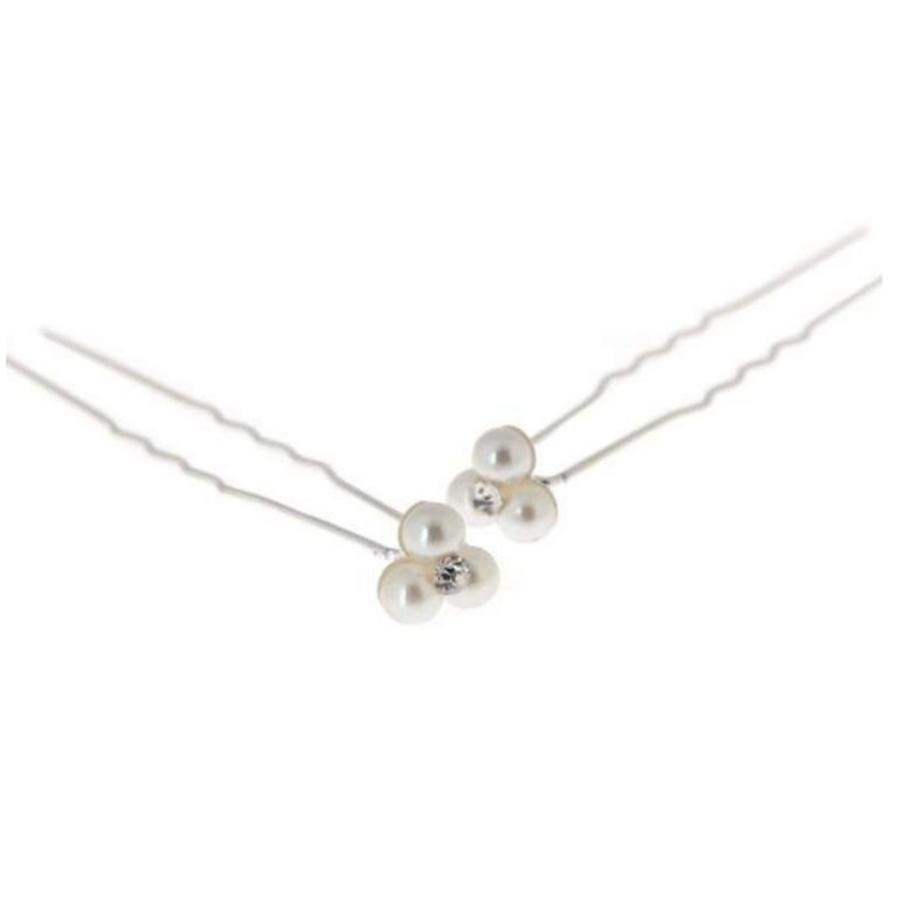Hairpins – Pareltjes met 'Diamantje' - 5 stuks-5