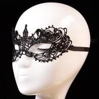thumb-Party Masker - Zwart-2