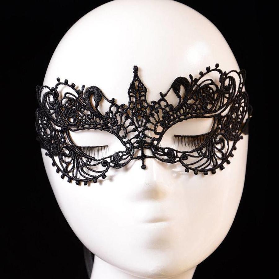 Party Masker - Zwart-1
