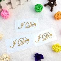 'I DO' Sticker - Goud