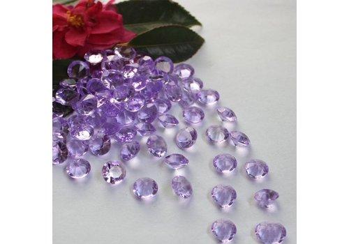Decoratie Steentjes - Diamantjes - Lila - 1000 stuks