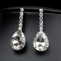 thumb-Sieraden Set met Diamanten Druppels-2