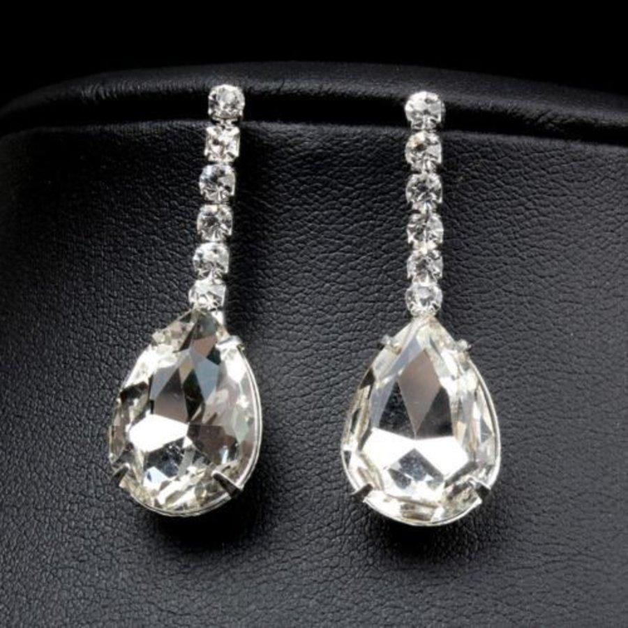 Sieraden Set met Diamanten Druppels-2