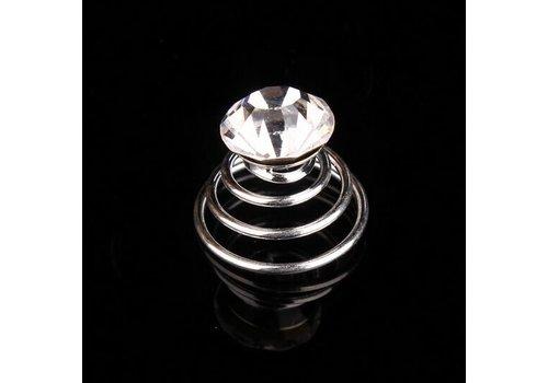 Kristallen Curlies - 6 stuks
