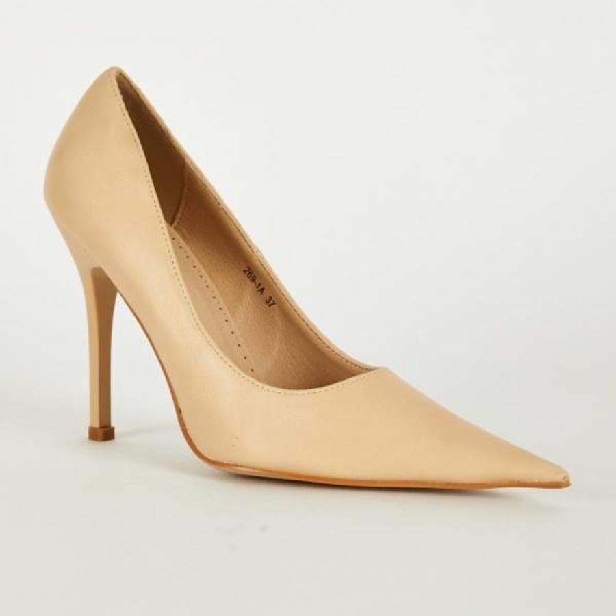 SALE - Pumps - Maat 39 - Belle Women - High Heels - Crème-1