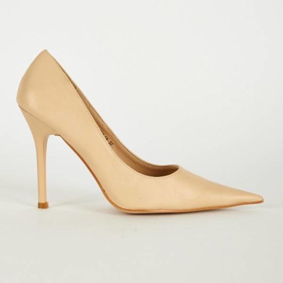 SALE - Pumps - Maat 39 - Belle Women - High Heels - Crème-4