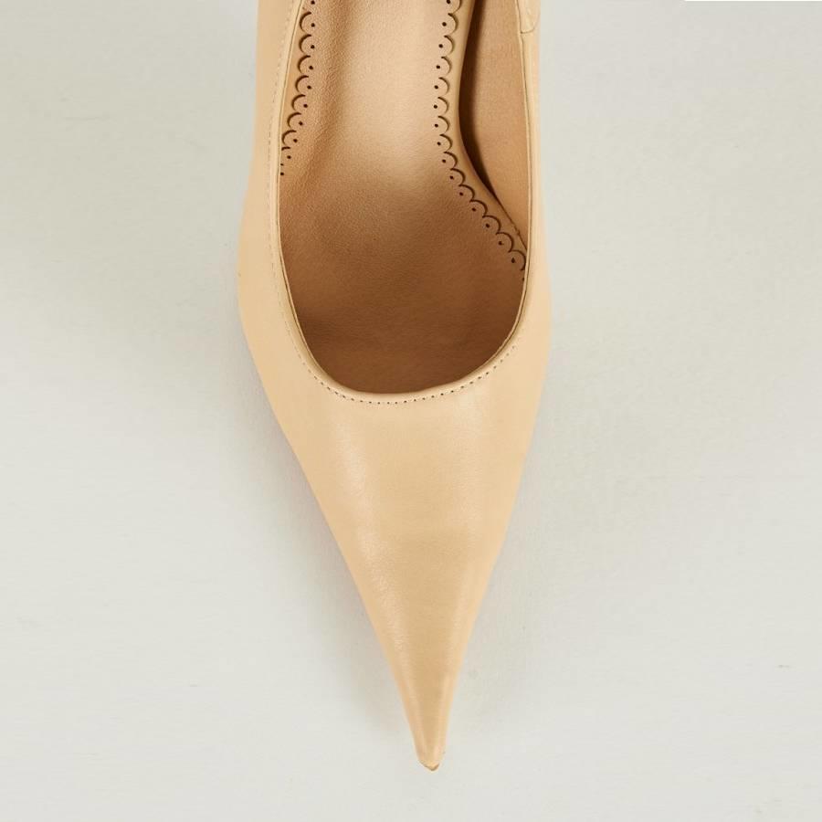 SALE - Pumps - Maat 39 - Belle Women - High Heels - Crème-3