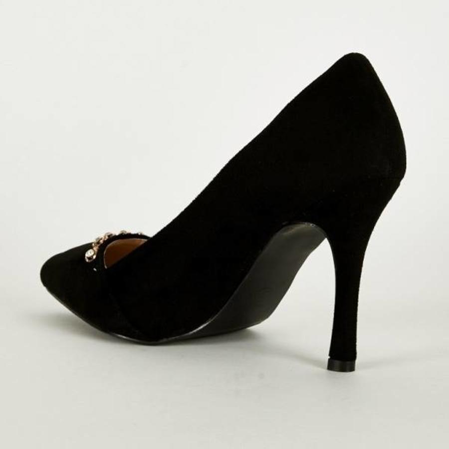 SALE - Pumps - Maat 38 - High Heels - Zwart - Belle Women-2