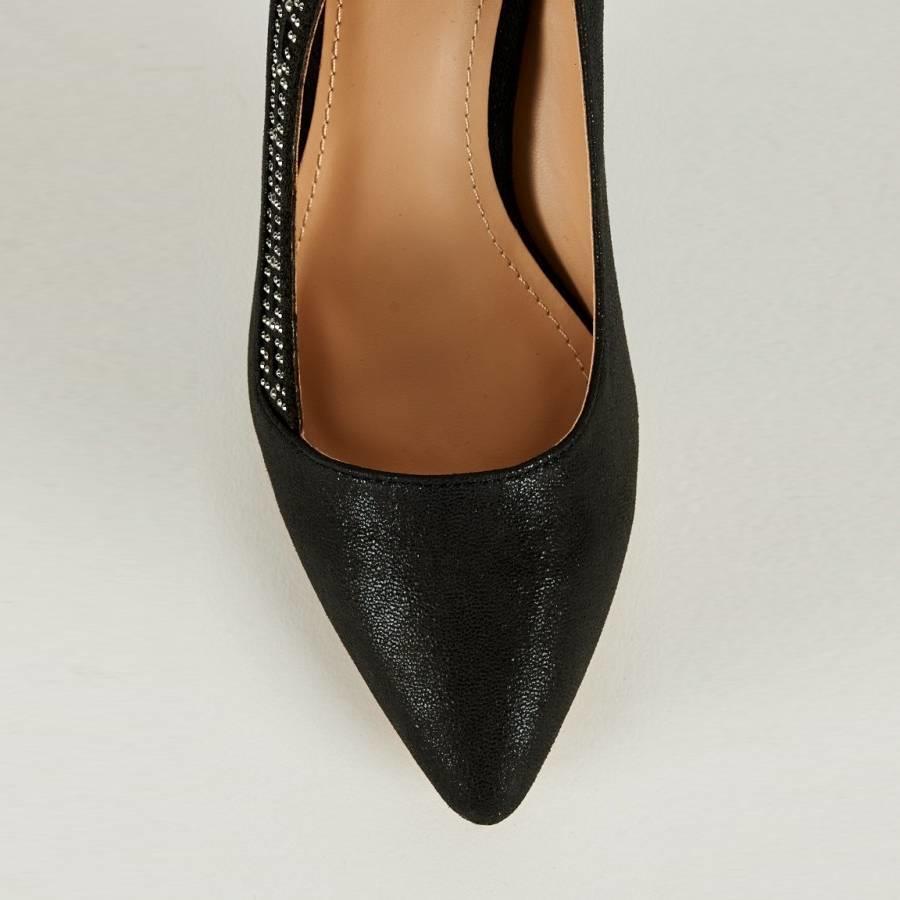 SALE - Pumps - Maat 38 - High Heels - Belle Women - Zwart-3