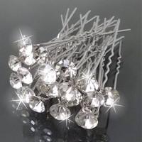 thumb-PaCaZa - Hairpins - Grote Kristallen - 5 stuks-1
