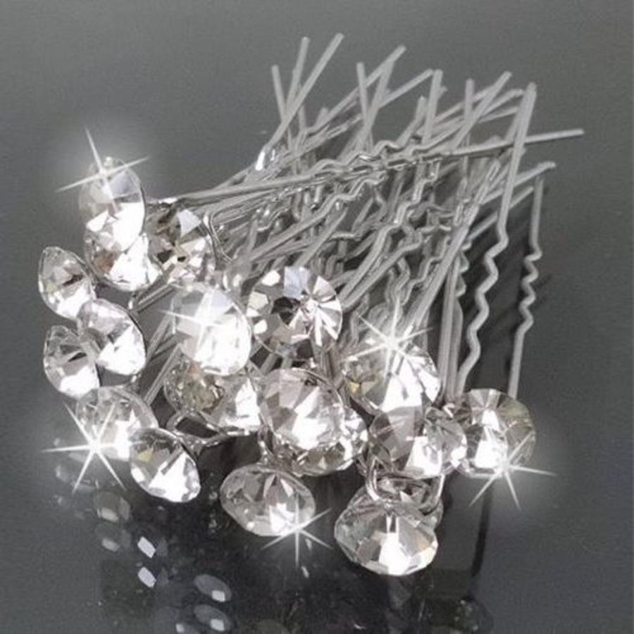 PaCaZa - Hairpins - Grote Kristallen - 5 stuks-1