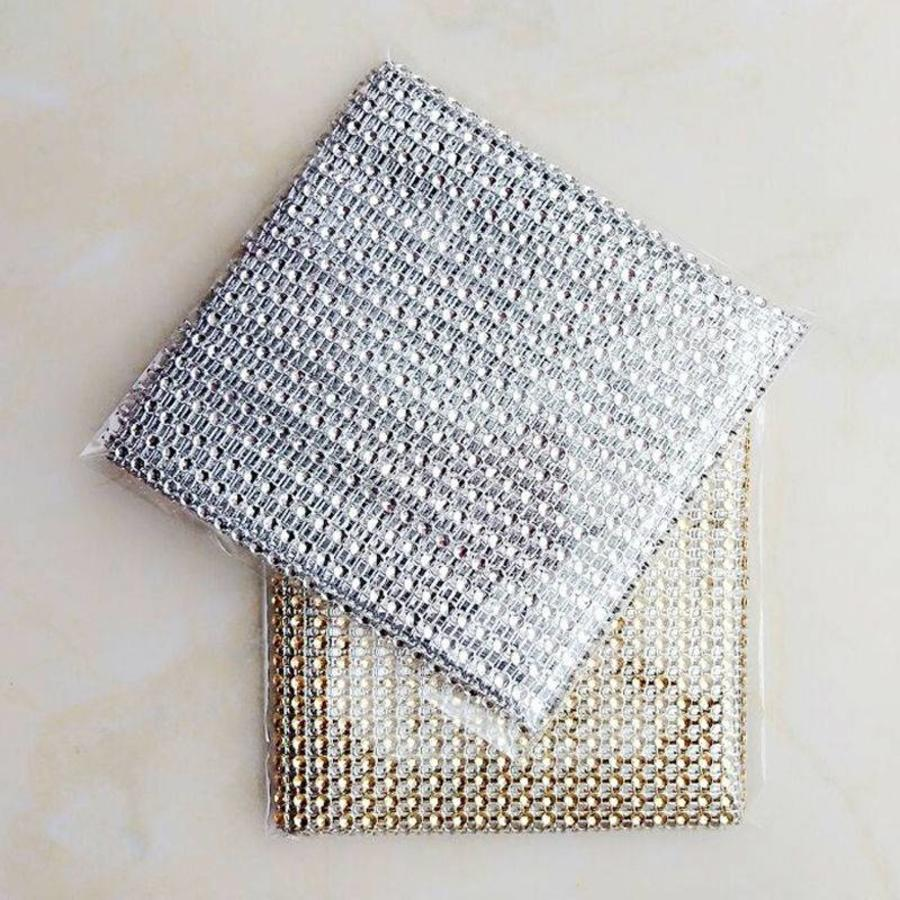 PaCaZa - Diamanten 'Lint' - 90 cm - Zilver - Bruiloft Decoratie - DIY-6
