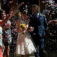 thumb-PaCaZa - Confetti - Just Married - Rood - 350 stuks-4