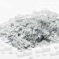 thumb-Confetti - Just Married  - Zilver - 350 stuks-3