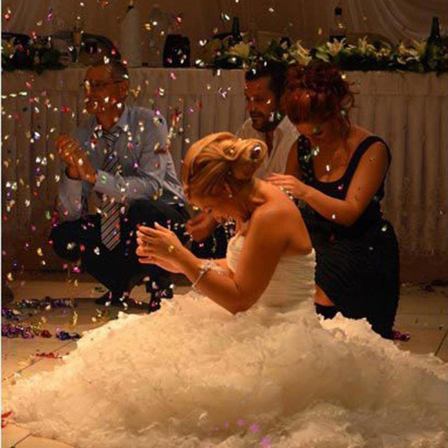 Confetti - Just Married & Hartjes - Goud - 350 stuks-5